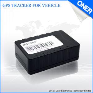 Kleines GPS-Auto, das Einheit mit Bau innerhalb der Antenne aufspürt