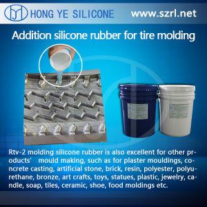 Amostra de borracha de silicone livre moldes de pneus de borracha de Silicone RTV