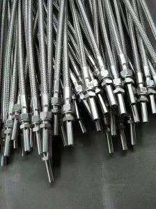 Il tubo flessibile del metallo flessibile con acciai inossidabili 304 o 316 ha intrecciato il tubo flessibile ed i montaggi idraulici