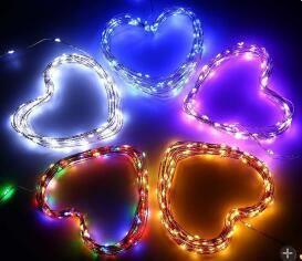Festival de brillante colorido decoración cadena Solar LED Light