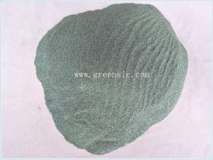 Karbid-Grün des Silikon-F320 verwendet, wenn Material imprägniert wird
