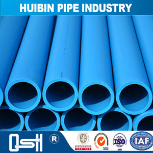 高品質の給水のための青いHDPEの管