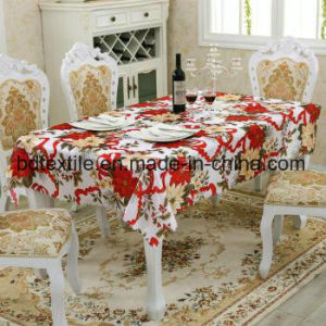 Bd 직물 테이블 피복을%s 소형 매트 100%년 폴리에스테 직물