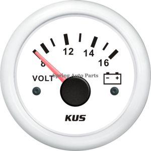 52mm popolari Voltmeter Voltage Gauge 12V/8-16V con Backlight