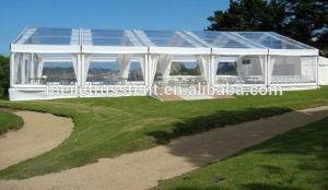 屋外党大きいイベントPVC玄関ひさしの透過結婚式のテント