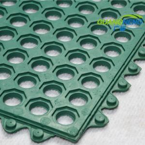 台所のための安い連結オイルの抵抗力があるゴム製屋内フロアーリングのマット
