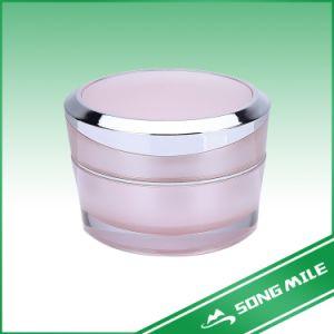 50ml Crème visage cosmétique Jar Jar, récipient en plastique