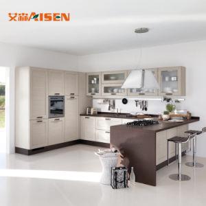 2018 cozinha tradicionais mobílias de madeira maciça feita personalizados de armários de cozinha