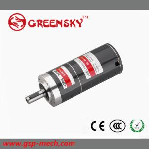 La calidad de engranajes planetarios CC 15W 20W 30W 42mm 24V DC Motor sin escobillas
