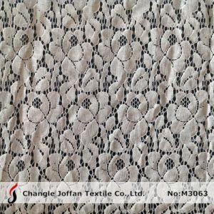 熱い販売の衣服(M3063)のためのナイロン綿のレースファブリック