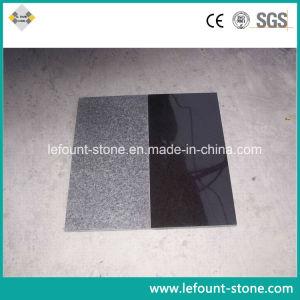Polidos basalto negro de Lava para ladrilhos/Rock/Pavimentação/Piscina/Flooring