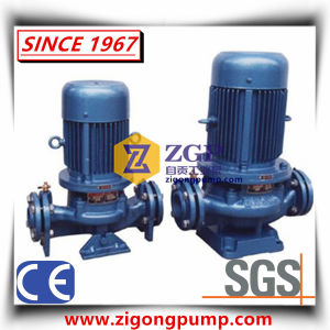 En ligne de produits chimiques centrifuge verticale/Pipeline La pompe à eau circulante