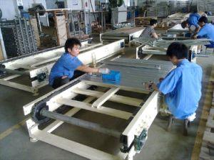 Ampliamente utilizar cinta transportadora de acero inoxidable Net