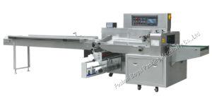 Lleno de flujo de acero inoxidable Pizza Envoltura automática Máquina de embalaje