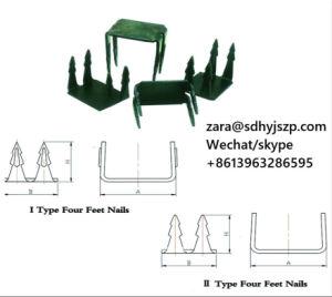 De Stelen van het staal, Vier Voet van Spijkers van de Schoen, Twee/Dubbele Voeten van de Spijker, de Kopspijkers van de Schoen voor de Schoenen van het Leer, Dame High Heel Shoes Sole/Binnenzool/Spijkers Midsole