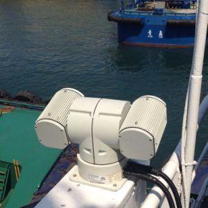 T Camera van de Laser PTZ van de Vorm de Op een voertuig gemonteerde Infrarode