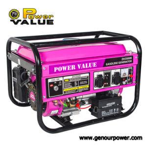 Reparação do gerador a gasolina com todos os tipos de diferentes partes separadas opcional