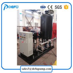 Tanque de presión vertical Equipo de suministro de agua centrífuga multietapa Bomba Jockey