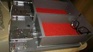 De slimme Elektrische Textuur van het Ijzer van de Patroon van het Slot van de Lade Automatische Roestvrije