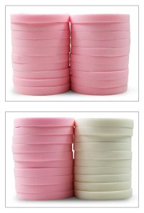 Pó de cosméticos Esfoliante Beleza rótulo privado Makeup Esponja esfoliante 20PCS/Bag