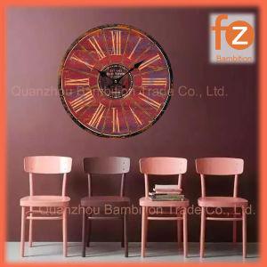 Caliente la venta de varios estilos innovadores comercio al por mayor Reloj de pared Pared Vintage Antiguo reloj redondo de madera para la decoración del hogar016006-91 Fz.