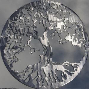 Le verre lune Metal-Craft Art Service découpé au laser cadeau promotionnel