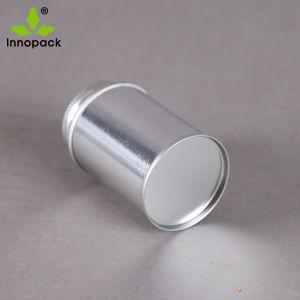 4oz 118ml topo da escova de metal redonda Cola PVC Lata com tampa