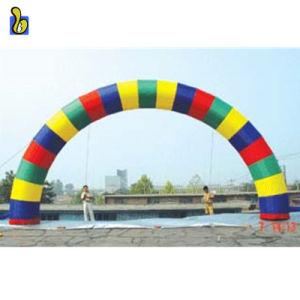 Rainbow Colourful gonfiabile del rifornimento della fabbrica che fa pubblicità all'arco K4024