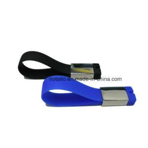 La pulsera USB Flash Drive USB pulsera de silicona con el logotipo de impresión
