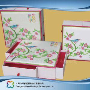 Papiereinbandes steifes Papierverpackenluxuxgeschenk/Nahrung/kosmetischer Kasten (XC-hbf-008)