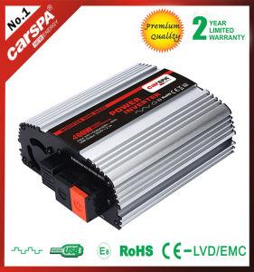 Постоянного тока AC Car инвертирующий усилитель мощности 400 Вт 120V 60Гц порт USB