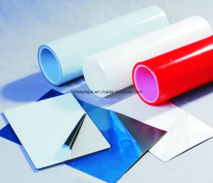 Effacer le PE ou le film de protection en PVC