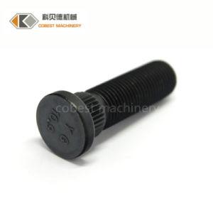 Oxyde noir en acier allié de précision les goujons de roue de l'automobile vis auto