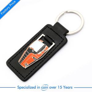 승진 버스 가죽 열쇠 고리 부속 전화는 철회 가능했던 전화 대를 개인화했다