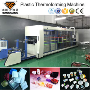 Jetables en plastique PS, PP bol Gobelet Tay machine de thermoformage