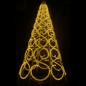 屋外Xmasの装飾LEDロープライトクリスマスツリーライト