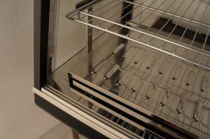 Cassa di visualizzazione riscaldata controsoffitto elettrico per il negozio di Kfc (HW-1200)