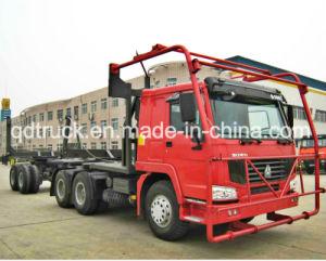 Camion dell'elemento portante del libro macchina del camion di trasporto del legname di HOWO