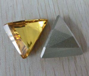 Parels van de Stenen van de Diamanten Strass van de driehoek de Buitensporige