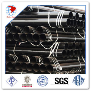 Dn400 Sch40 API ASTM 5L X52 Tubería de acero sin costura
