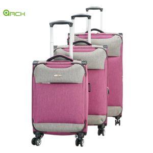 """19"""" 24"""" 29"""" 3PCS Definir Polyester//NYLON PU/Soft/carrinho à prova de sala com o Link para sistema de mala de viagem"""