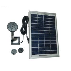 12V 5W Fuente de Energía Solar Mini DC sin escobillas decorativos del paisaje de la bomba de Agua Solar Piscina Jardín Solar Kit Bomba de agua