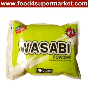 Wasabi Powder in Iron Tin o in Bag 1kg per Sushi Seasonings