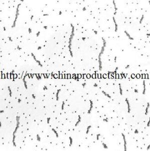 Techo de fibra mineral