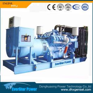 800kw Groupe électrogène Diesel Powered by MTU pour la vente du moteur
