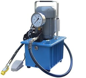 0,75kw, Bomba Hidráulica elétrica bidirecionais Hhb-630e para conduzir as ferramentas hidráulicas como cortador hidráulico Bender