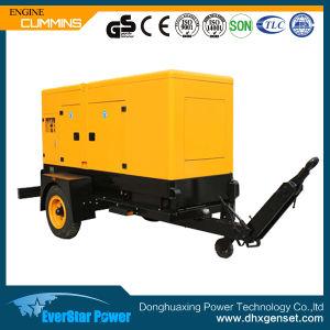 de Draagbare Elektrische Diesel 180kw 225kVA Reeks van de Generator voor het Gebruik van het Huis
