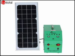 Sistema solar portátil de 300W