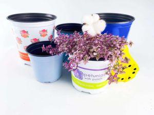 Home jardín de flores de plástico de la Olla, olla de siembra hortícola