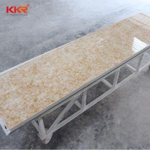 Remise de matériaux de construction Surface solide dalle de pierre